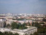 Минск: вид на город из парка Горького.