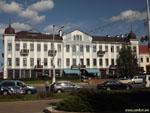Минск: бизнес-центр возле Ратуши.