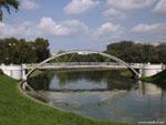 Минск: мост в сквере Старостинская Слобода.