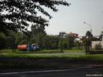 Минск: гнездо поливальных машин.