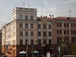 Минск: угловой дом на улице Ленина.