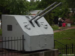 Кронштадт: орудийная башня на Обводном канале.