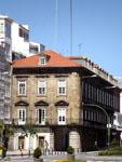 Ла-Корунья: улицы города.