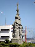 Ла-Корунья: памятник эмигрантам в Аргентину и Латинскую америку.