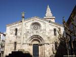 Ла-Корунья: монастырская церковь Санта-Мария ( Colegiata de Santa María ).