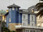 Ла-Корунья: дома на набережной.