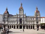 Ла-Корунья: ратуша ( Ayuntamiento de La Coruña ).