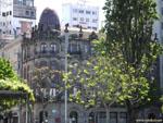 Виго: неуловимо напоминает дом Гауди в Барселоне.