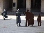 Виго: скульптурная группа в дань эмиграции.