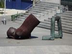 Виго: загадочная скульптура без пояснений.