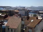 Виго: крыши и гавань.