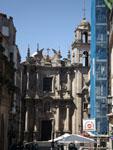 Оренсе: другой фасад собора ( Catedral de Orense ).