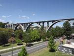 Оренсе: железнодорожный мост.