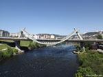Оренсе: мост тысячелетия ( puente del Milenio ).
