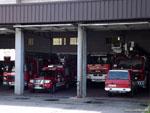 Оренсе: пожарное депо.