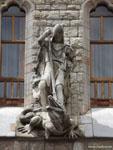 Леон: святой Георгий убивает дракона.
