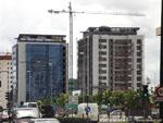 Вальядолид: новостройки-многоэтажки.
