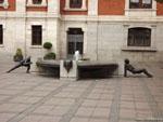 Вальядолид: концептуальный фонтан.