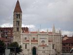 Вальядолид: церковь Св. Марии Древней ( Santa María La Antigua ).
