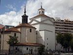 Вальядолид: неопознанная церковь.