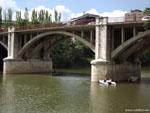 Вальядолид: мост Поньенте ( puente de Poniente ).